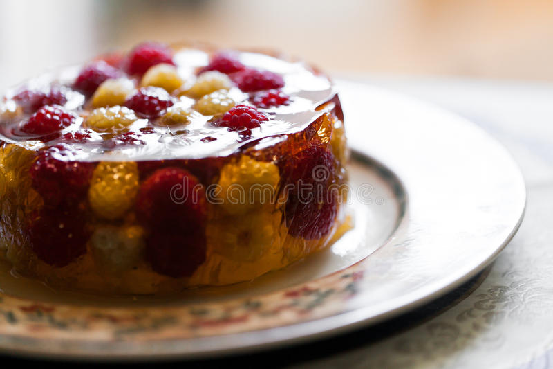Download Jelly dessert stock image. Image of raspberry, cuisine - 28840591