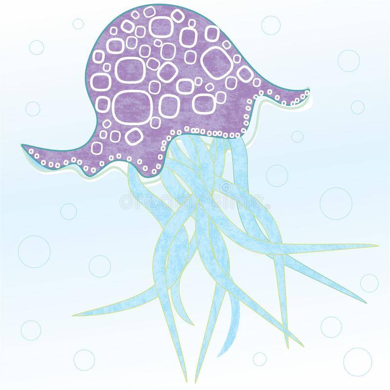 Jelly Fish lizenzfreie stockbilder