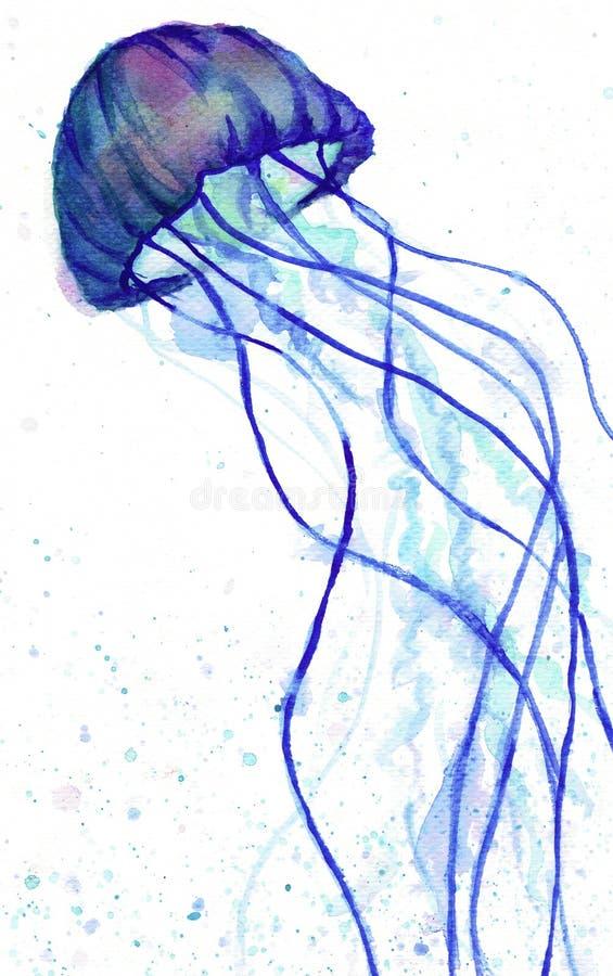 Jelly Fish stock de ilustración