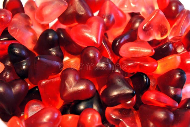 Jelly heart royalty free stock photography