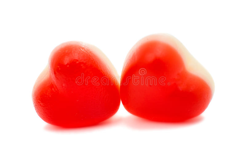 Jelly Hearts stockfotos