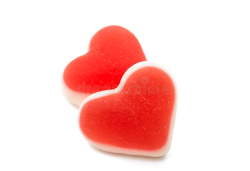 Jelly Hearts stockfoto