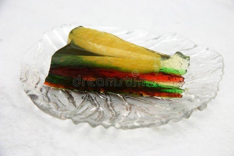 jelly owocowych obrazy stock