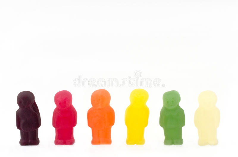Jelly People royalty free stock photos