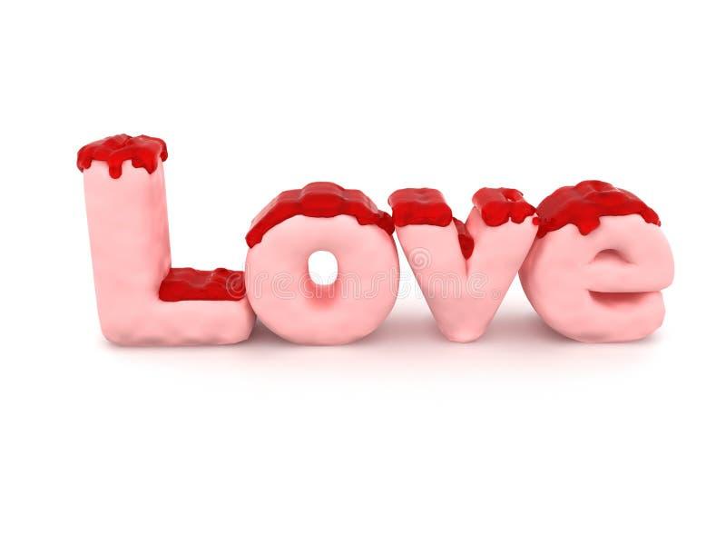 Download Jelly pink love stock illustration. Illustration of background - 41123709