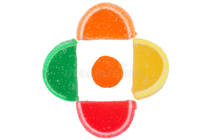 Jelly Slices royalty free stock images