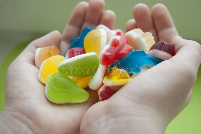 Jelly Sweets stock afbeelding