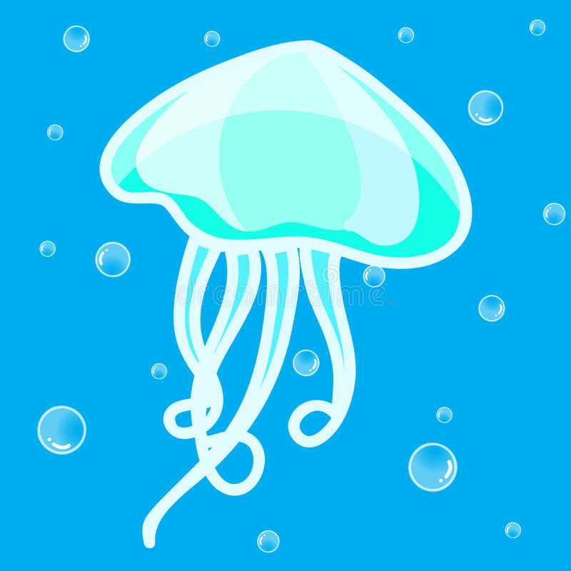 Jellyfish clipart
