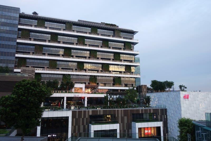 Jem-Einkaufszentrum in Jurong Ost-Singapur stockbild