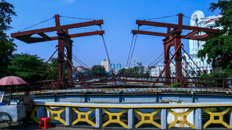 Jembatan Kota Intan royaltyfri foto