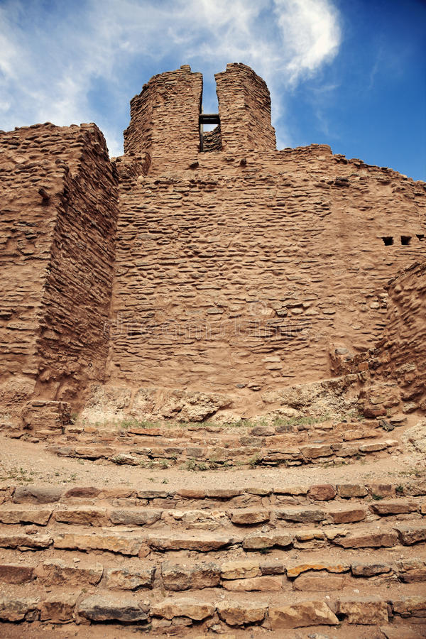 Jemez State Monument royalty free stock images