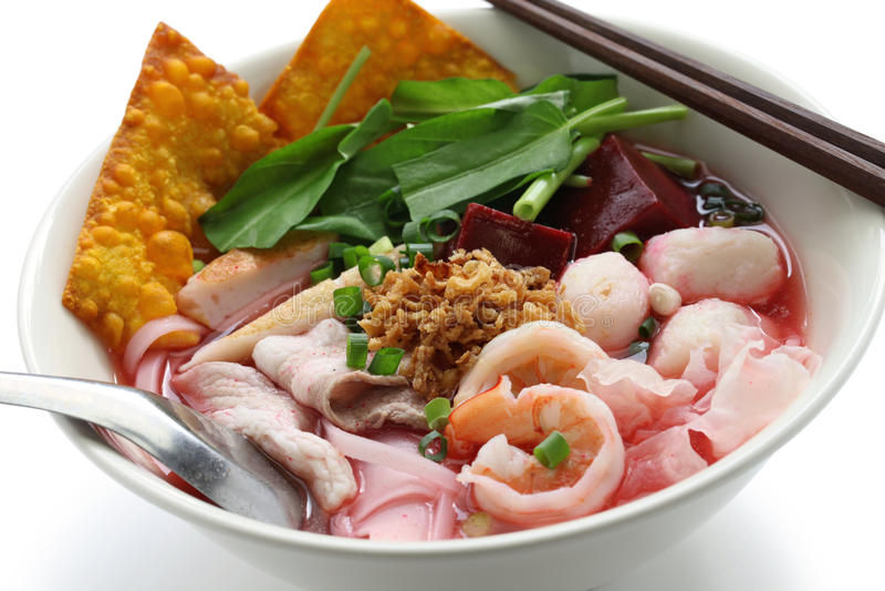 Jen ta fo, tajlandzka kuchnia fotografia royalty free