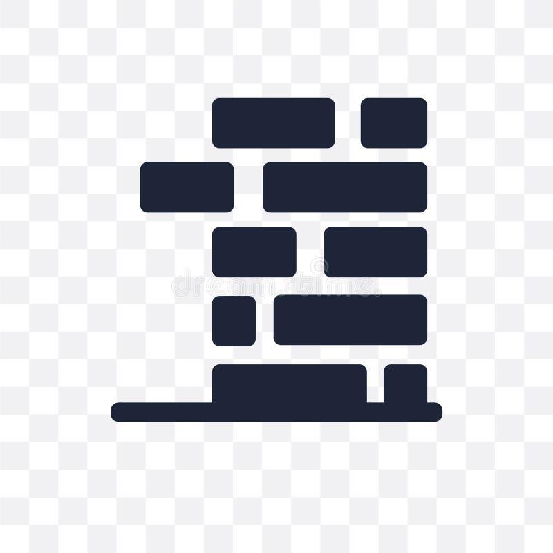Jenga透明象 Jenga从拱廊collecti的标志设计 库存例证