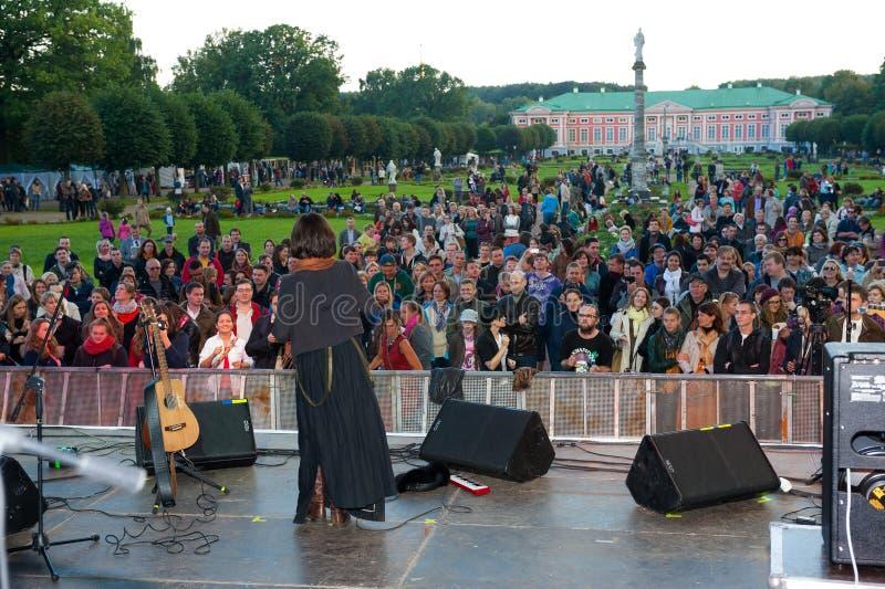 Download Jenia Lubich Performs At Usadba Jazz Festival Editorial Stock Photo - Image: 33871798
