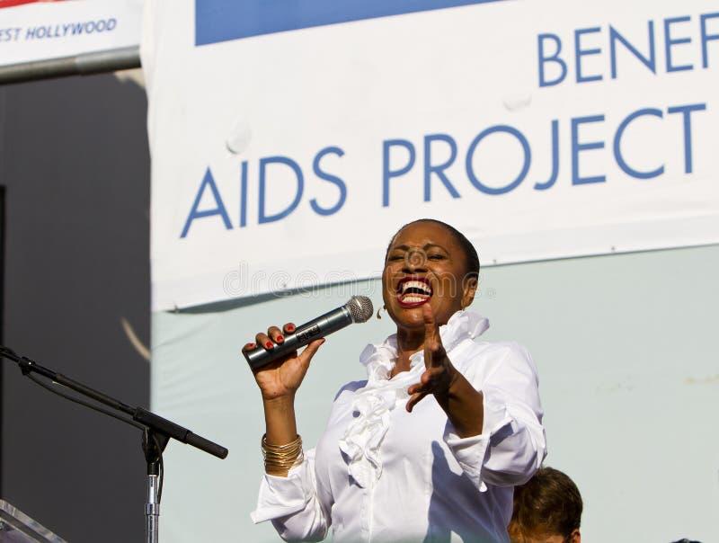 Download Jenifer Lewis Entertains The Crowd At AIDS WALK LA Editorial Photo - Image: 21620956
