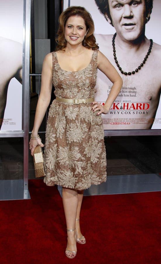 Jenna Fischer royalty-vrije stock fotografie