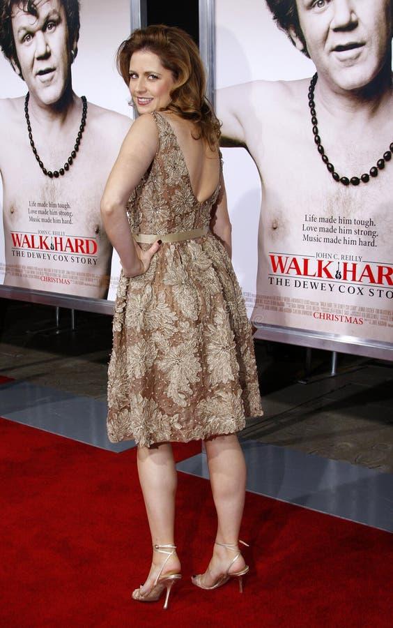 Jenna Fischer royalty-vrije stock afbeelding