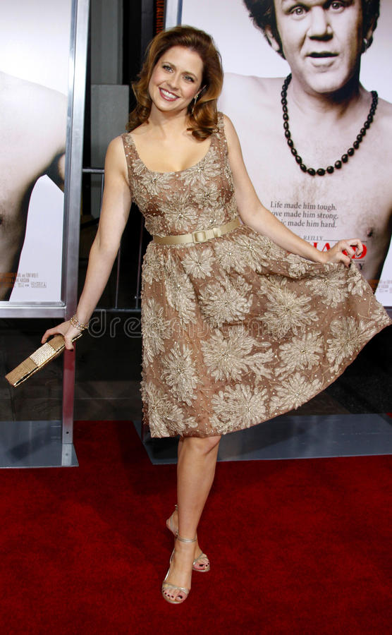 Jenna Fischer royalty-vrije stock foto's