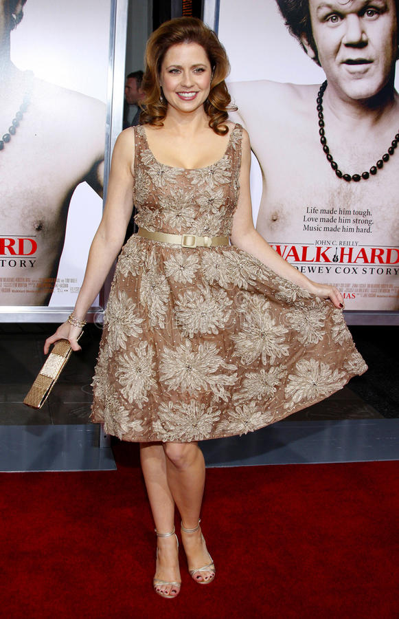 Jenna Fischer stock afbeelding
