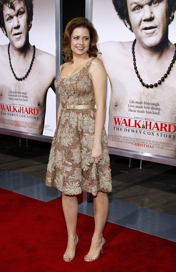 Jenna Fischer foto de stock royalty free