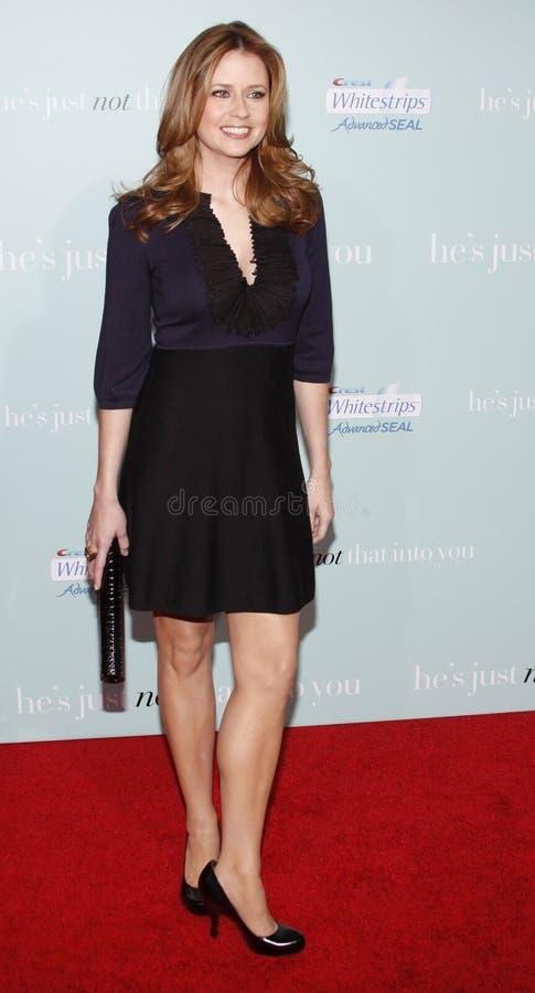 Jenna Fischer στοκ εικόνα με δικαίωμα ελεύθερης χρήσης