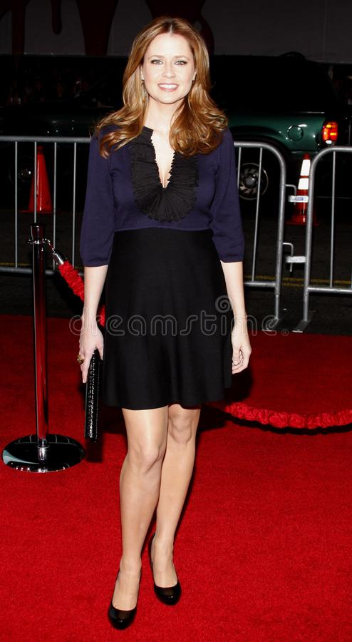 Jenna Fischer stock afbeeldingen