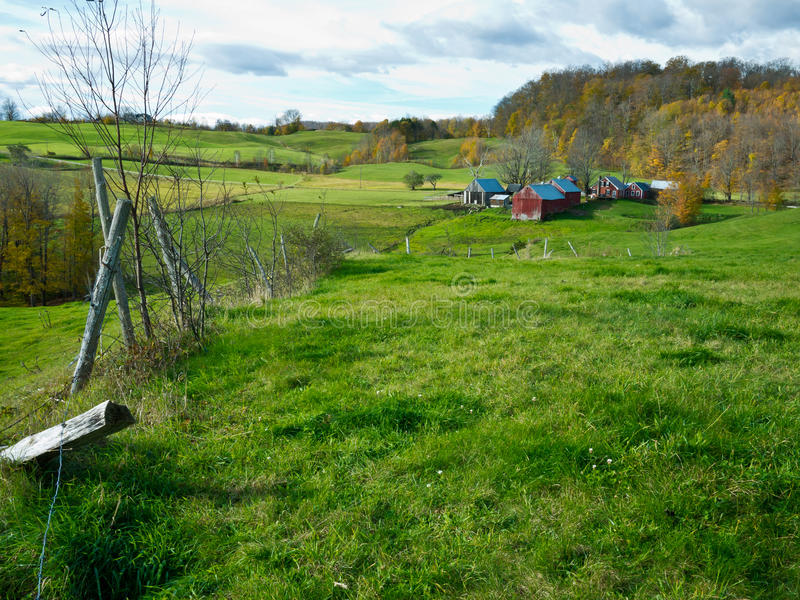 Jenne Bauernhof, Vermont stockfoto