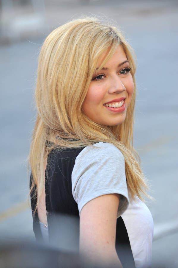 Jennette McCurdy lizenzfreies stockfoto