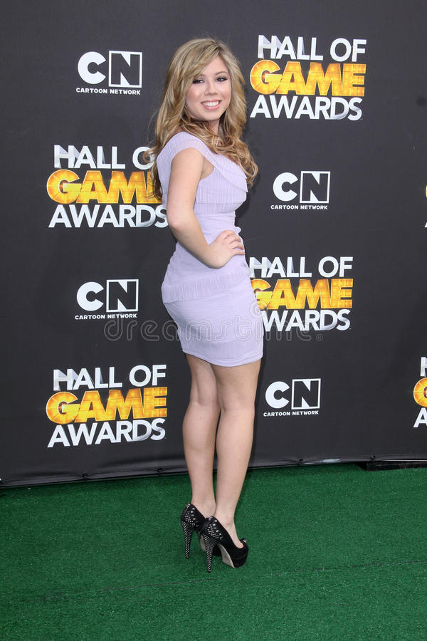 Download Jennette McCurdy At The Cartoon Network Hall Of Game Awards, Barker Hangar, Santa Monica, CA 02-18-12 Editorial Photography - Image: 23474737