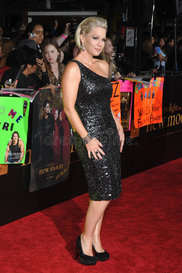 Jennie Garth royalty-vrije stock afbeelding