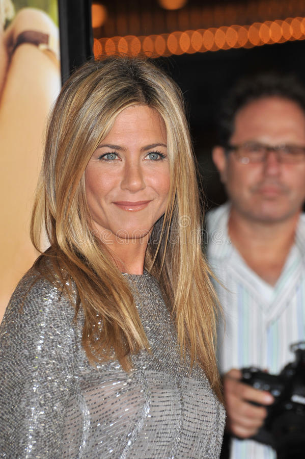 Jennifer Aniston. At the world premiere of her new movie Love Happens at the mann Village Theatre, Westwood. September 15, 2009 Los Angeles, CA Picture: Paul royalty free stock images