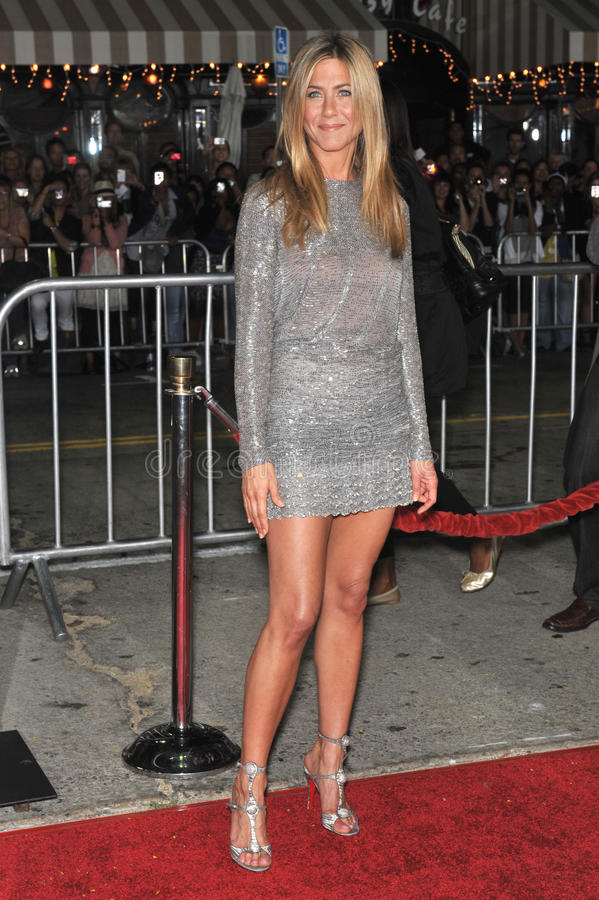 Jennifer Aniston. At the world premiere of her new movie Love Happens at the mann Village Theatre, Westwood. September 15, 2009 Los Angeles, CA Picture: Paul royalty free stock image