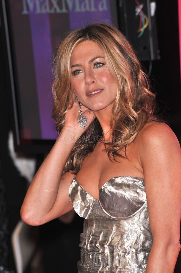 Jennifer Aniston fotos de archivo libres de regalías