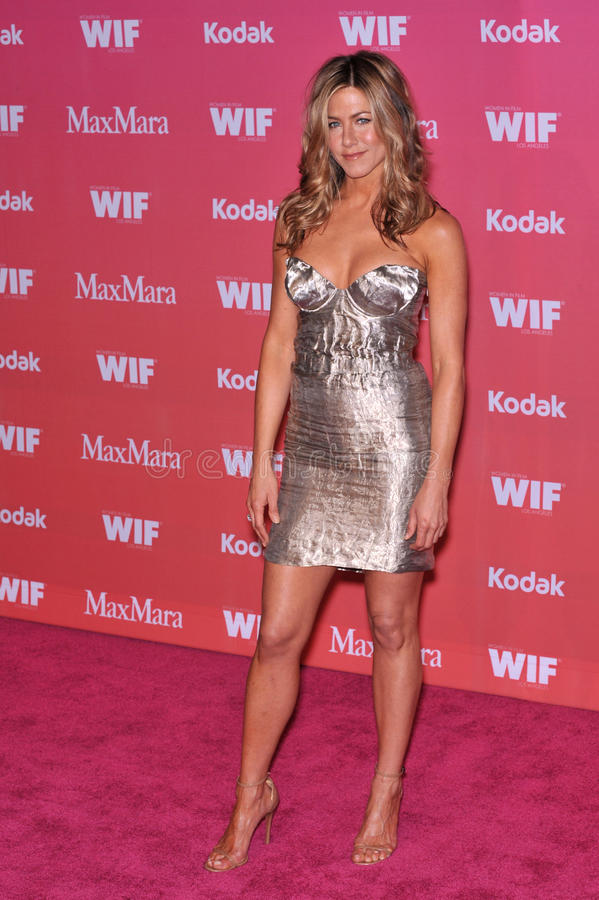 Jennifer Aniston. At the Women in Film 2009 Crystal + Lucy Awards at the Hyatt Regency Century Plaza Hotel, Century City, Los Angeles. June 12, 2009 Los Angeles stock photography
