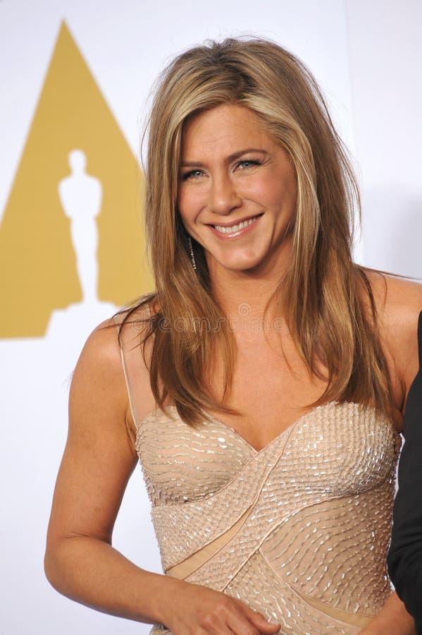 Jennifer Aniston imagens de stock