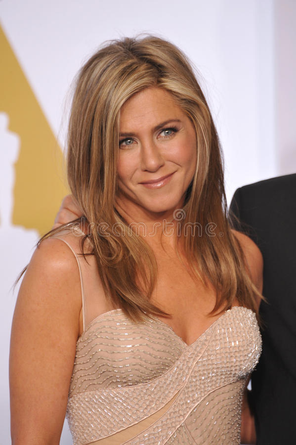 Jennifer Aniston photographie stock libre de droits