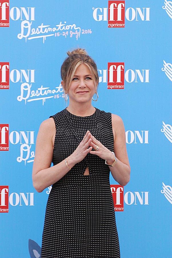 Jennifer Aniston fotografia stock
