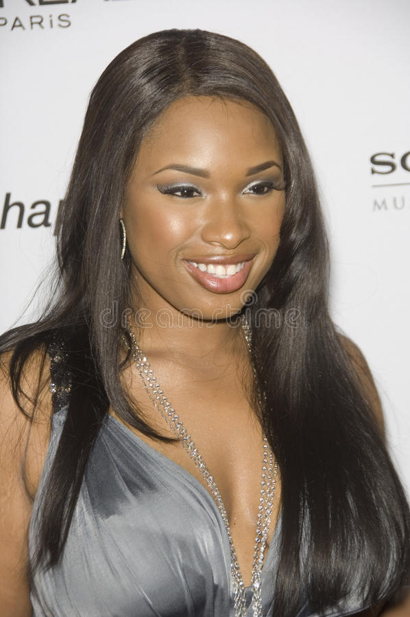 Jennifer Hudson stock foto