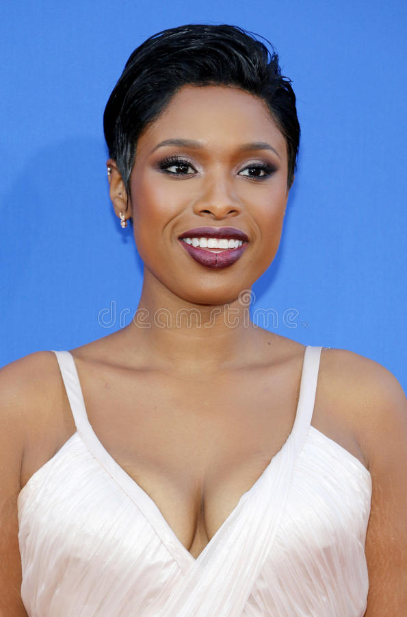 Jennifer Hudson. At the Los Angeles premiere of `Sing` held at the Microsoft Theater in Los Angeles, USA on December 3, 2016 stock photography
