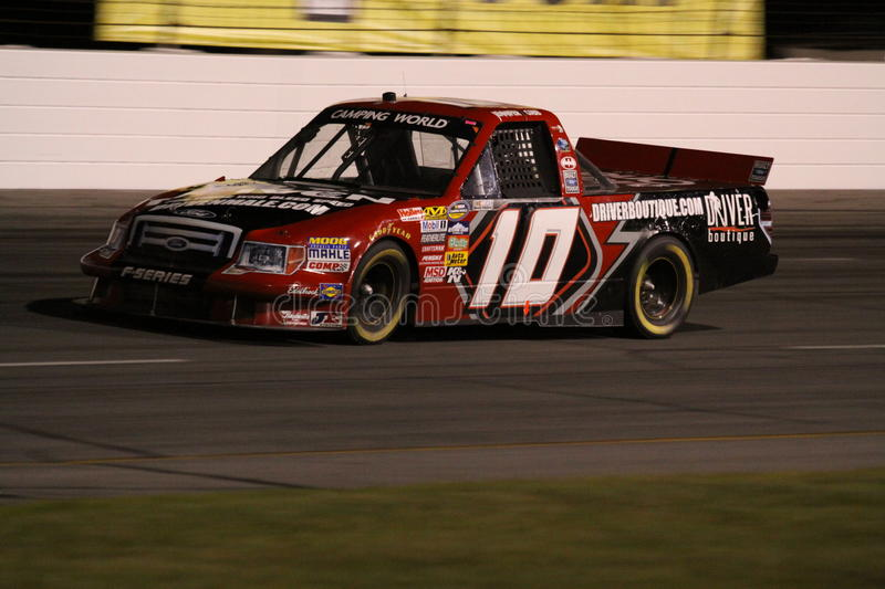 Download Jennifer Jo Cobb NASCAR Truck Series ORP Night T2 Editorial Stock Image - Image: 17644784