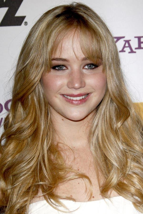 Jennifer Lawrence imagens de stock