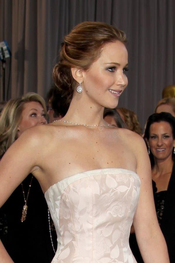 Jennifer Lawrence fotografie stock libere da diritti