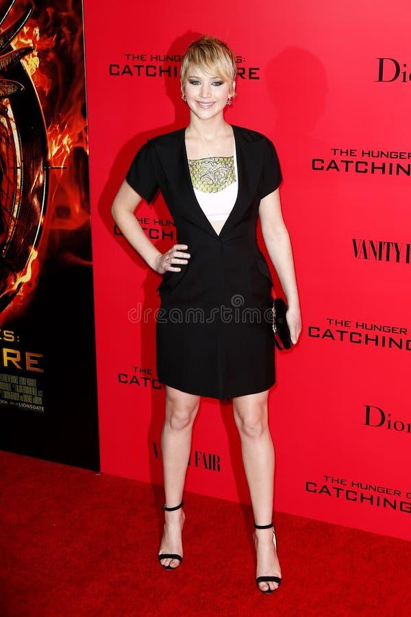 Jennifer Lawrence stock afbeelding