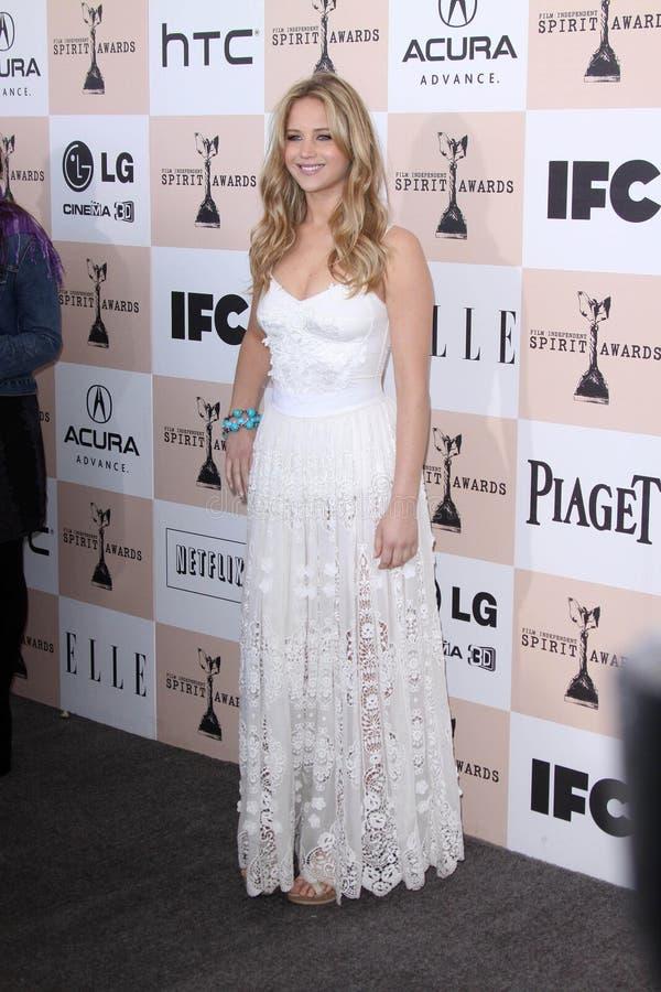 Jennifer Lawrence royaltyfria foton