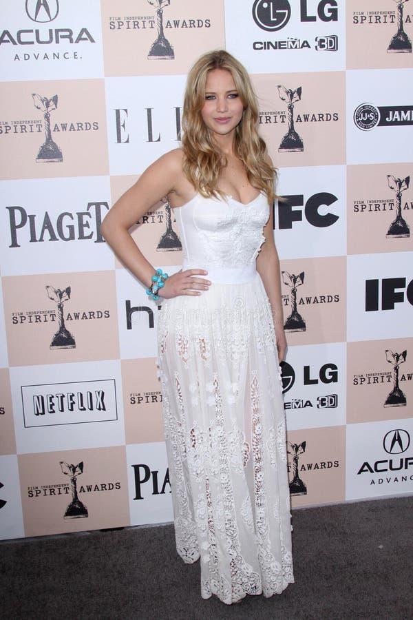 Jennifer Lawrence στοκ εικόνες