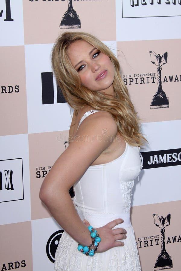Jennifer Lawrence royaltyfri fotografi
