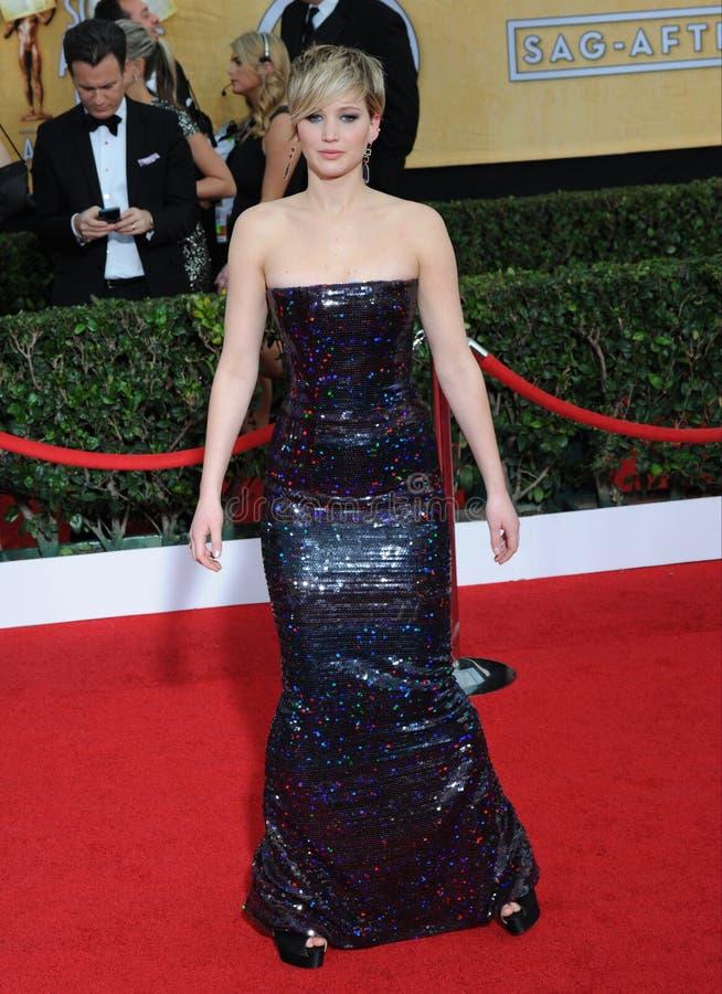 Jennifer Lawrence στοκ εικόνα με δικαίωμα ελεύθερης χρήσης