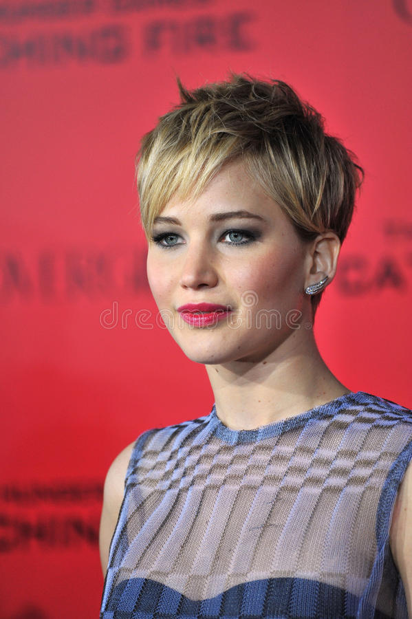 jennifer Lawrence fotografia royalty free