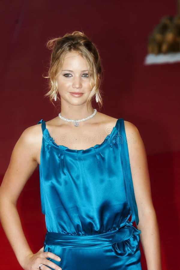 jennifer Lawrence obrazy royalty free