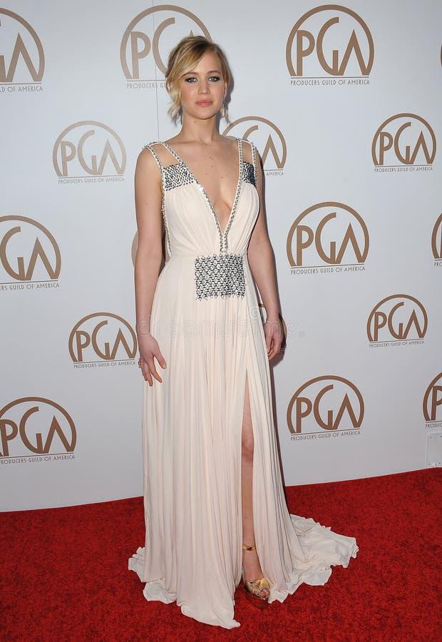 Jennifer Lawrence foto de stock royalty free
